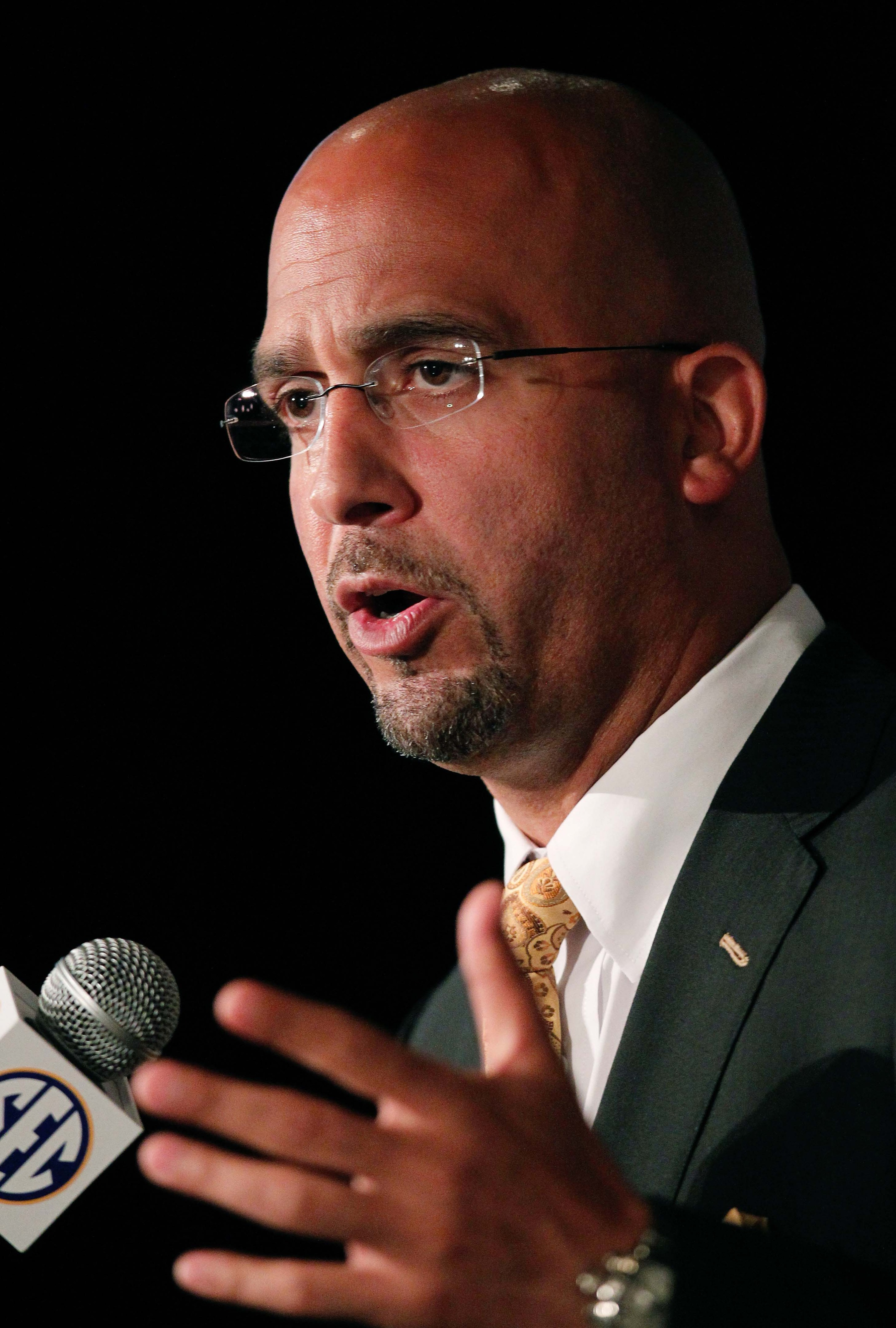 James Franklin denies allegation of deleting criminal evidence