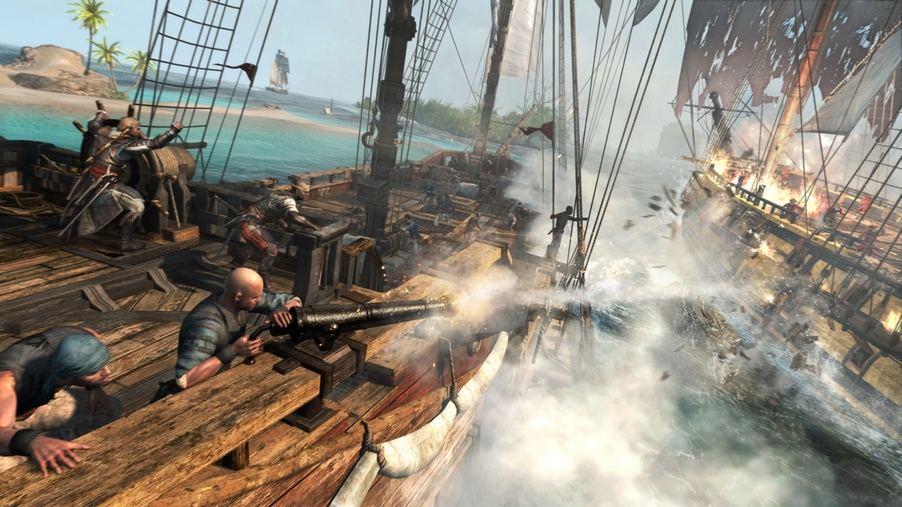 Assassin's Creed 4: Black Flag and the terrible beauty of naval warfare