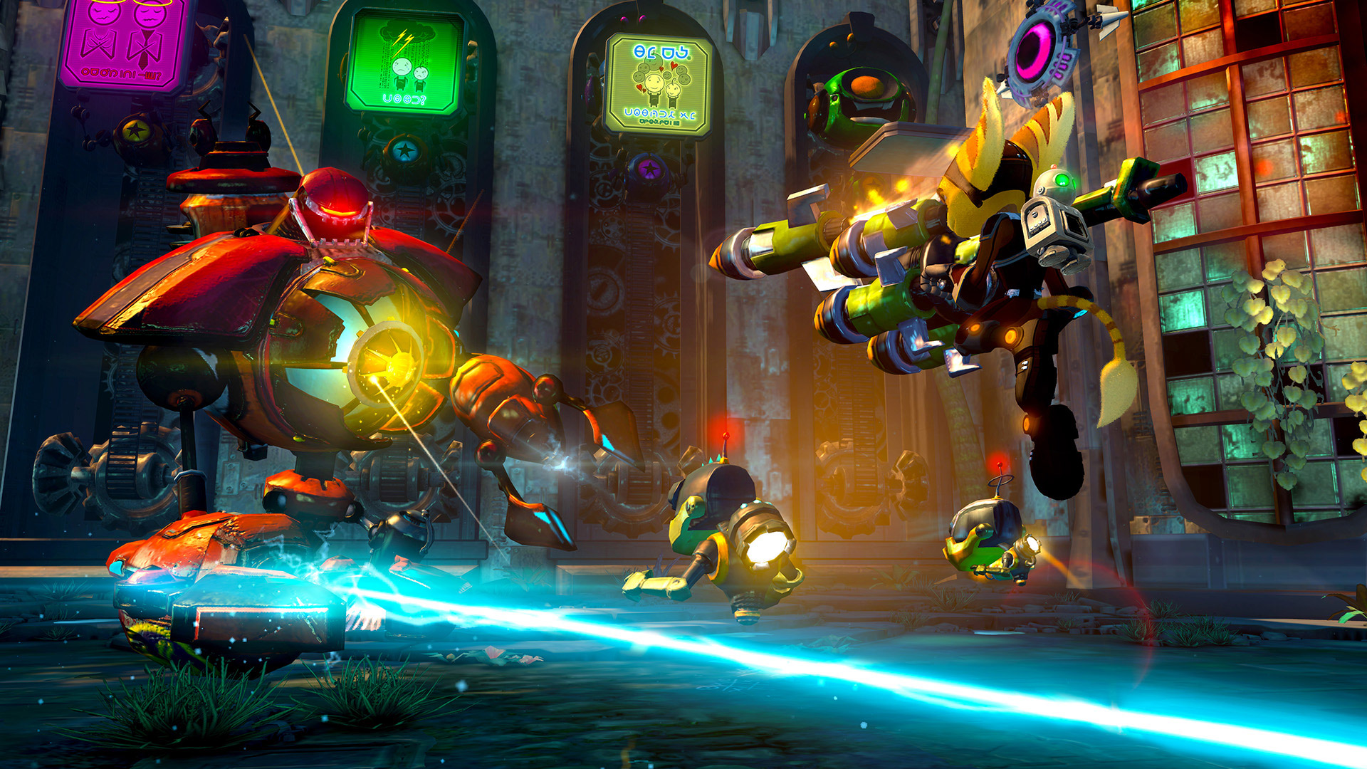 Ratchet & Clank bid PS3 farewell with Into the Nexus, a game with more gravity