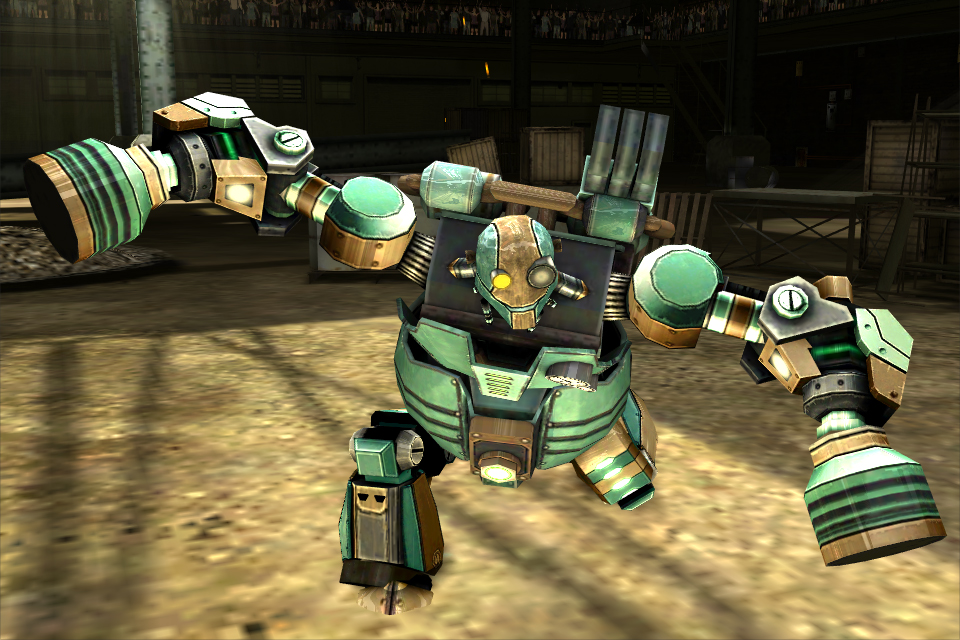 Real Steel robot beat-em-up sequel launching on mobile Oct. 17