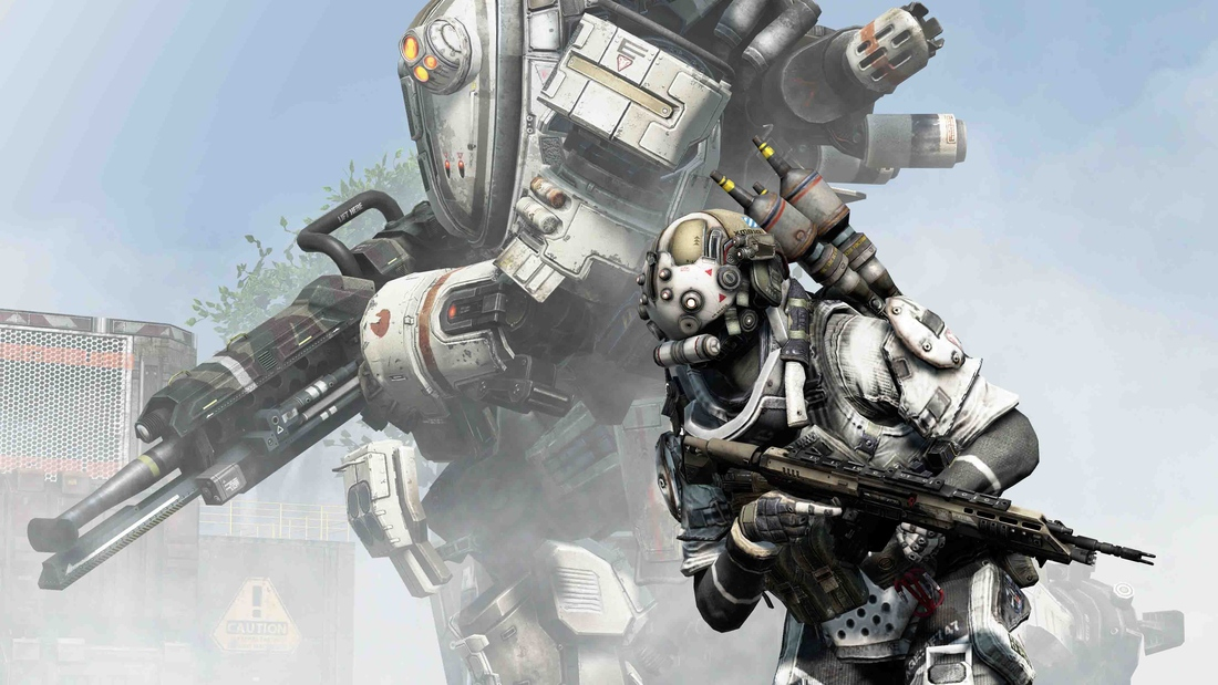 Titanfall is friendly, complex, thrilling and borrows wisely not from first-person shooters