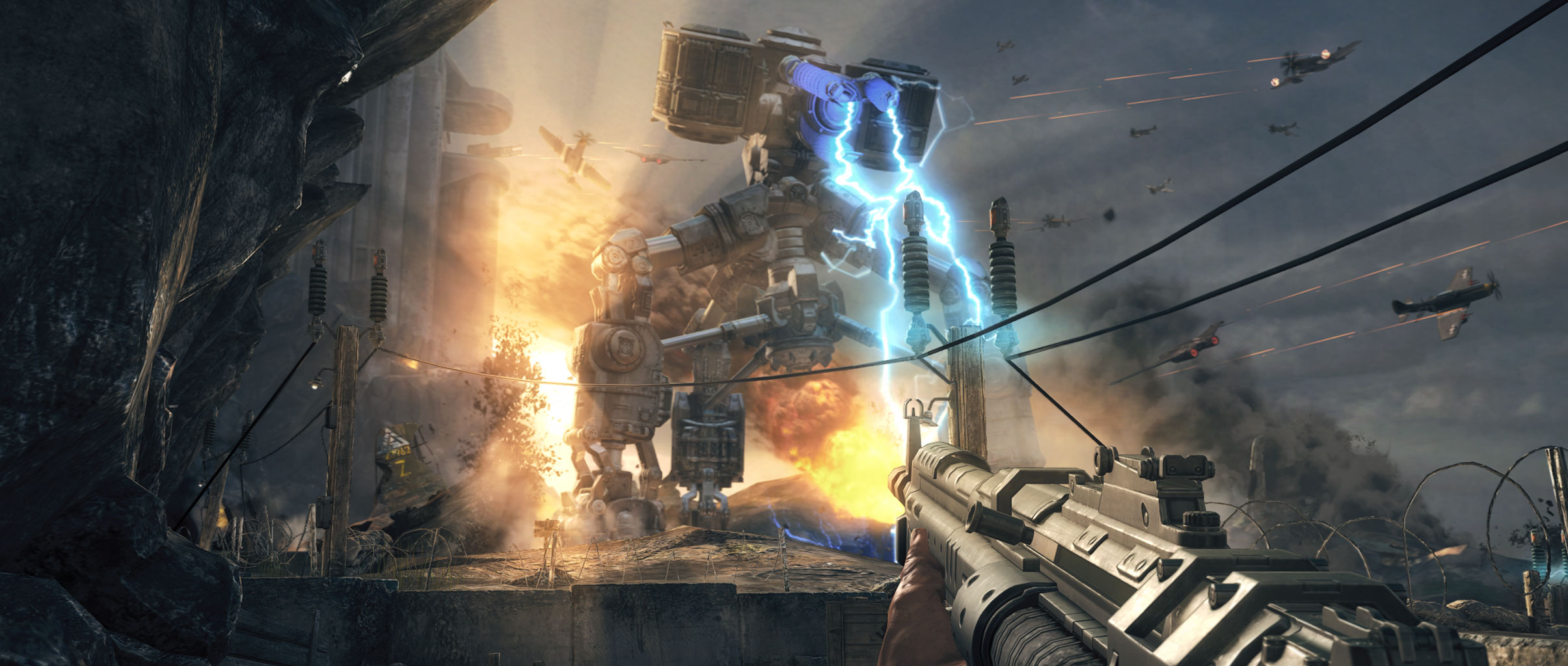 Wolfenstein: The New Order's first hours offer Nazi-killing thrills, chilling horrors