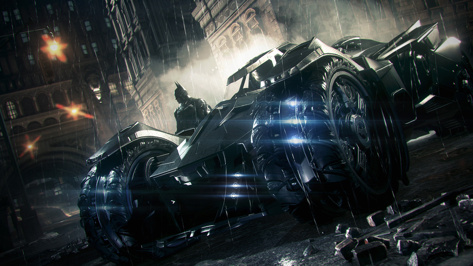 Arkham Knight gives Batman an all-new foe, a bigger Gotham and a 'wrecking ball' of a ride