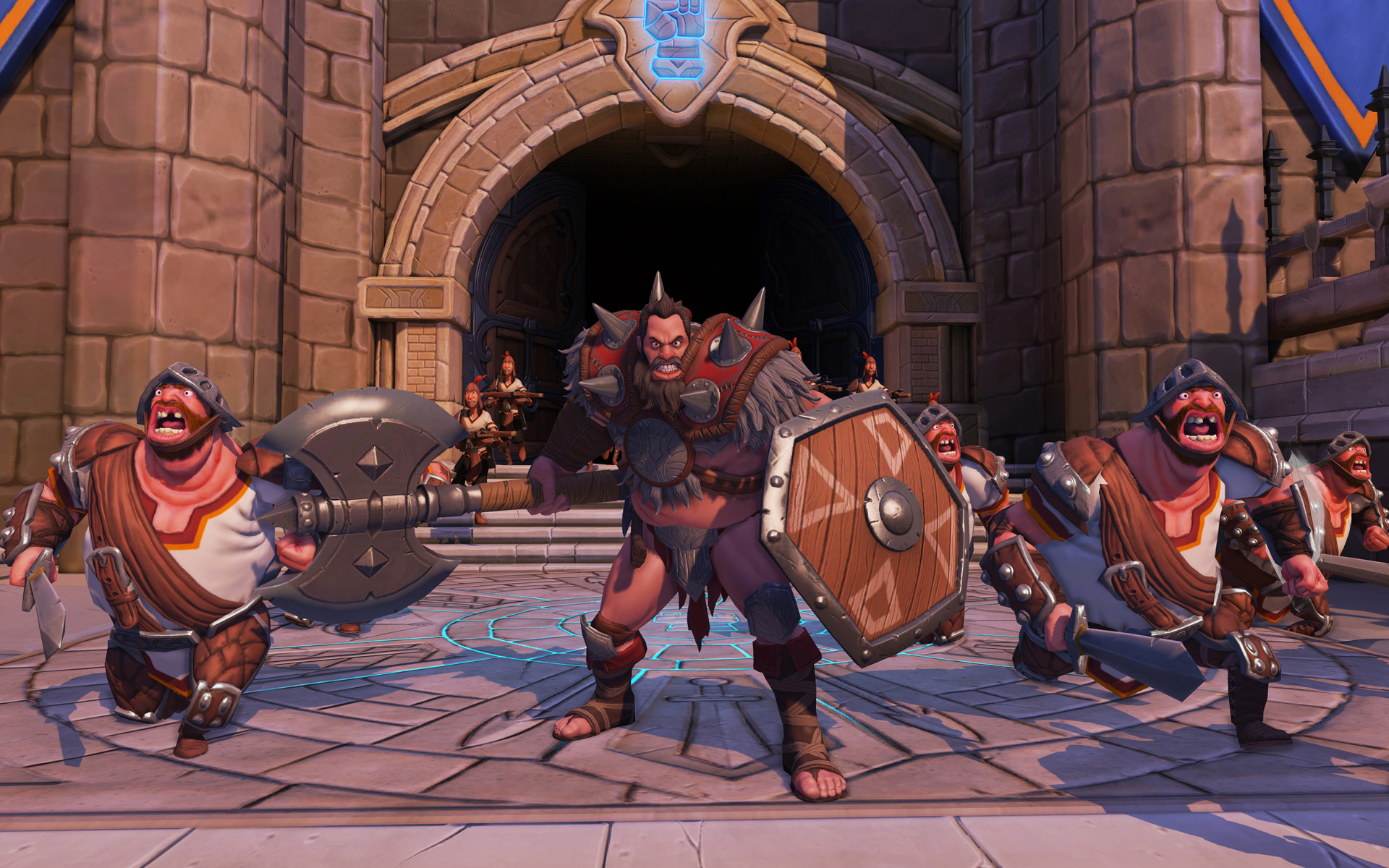 Orcs Must Die! Unchained is a class-based, card-collecting MOBA