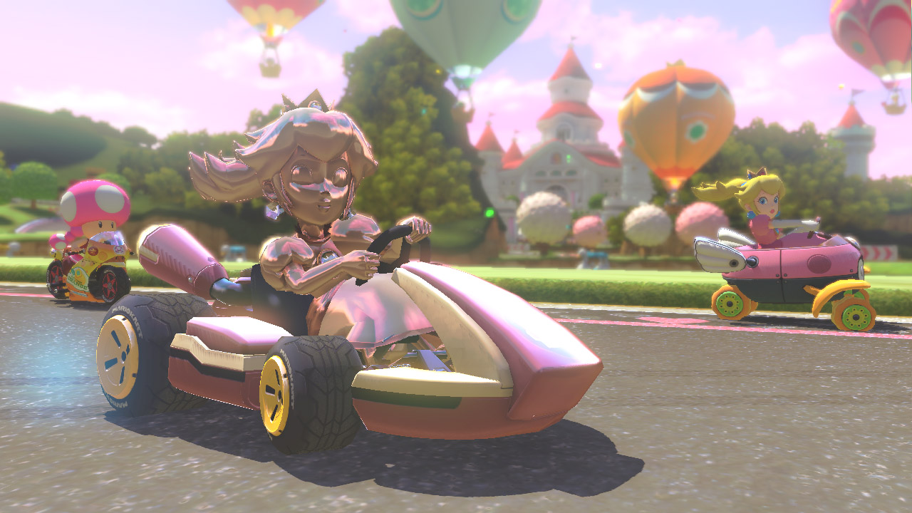 Mario Kart 8 features customizable online tournaments and shareable clips
