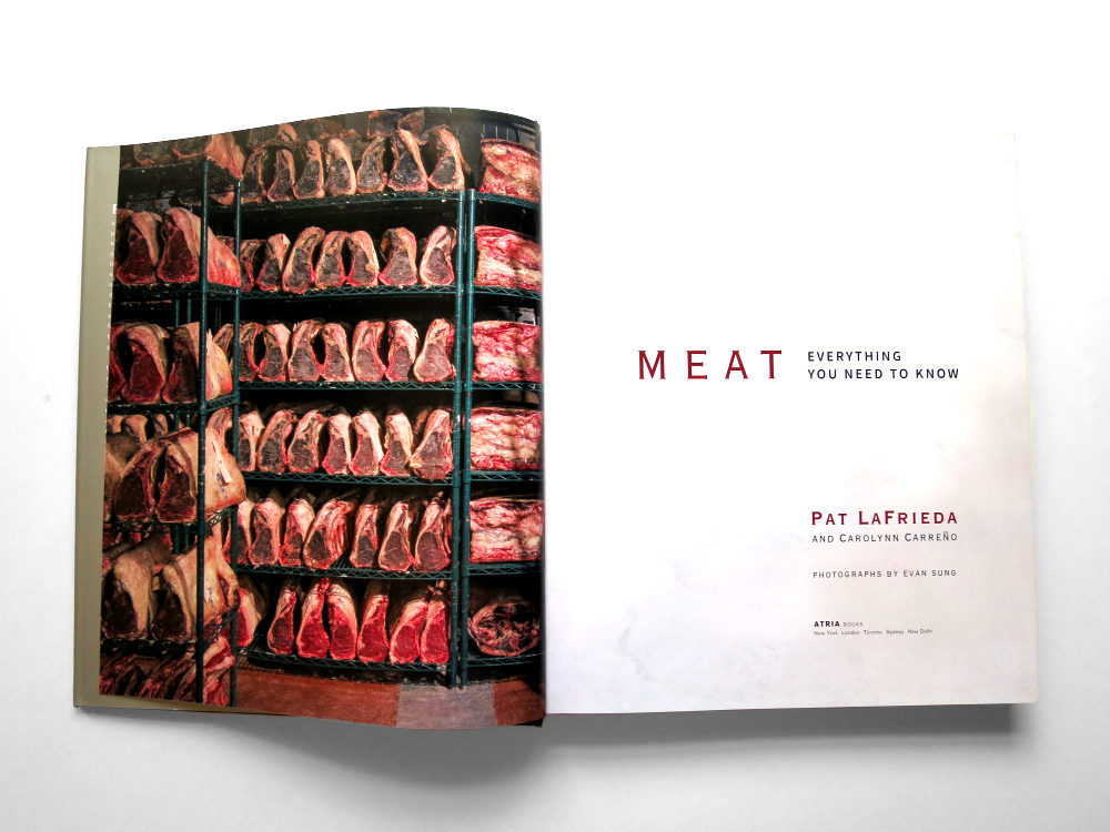 First Look: Pat LaFrieda's New Meat Cookbook