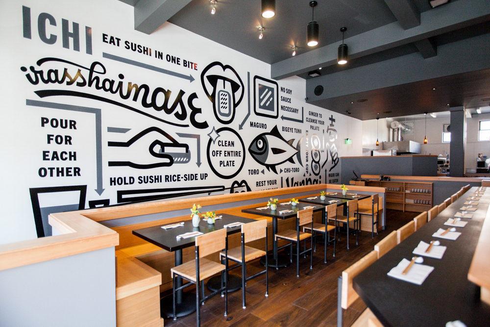 Ichi Sushi + Ni Bar, A Brilliant Bernal Expansion