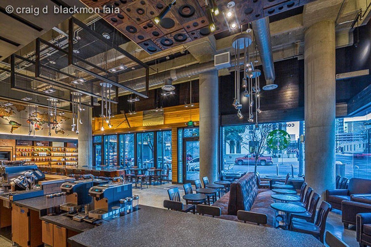 Behold a 'Local' Luxury Starbucks in Austin