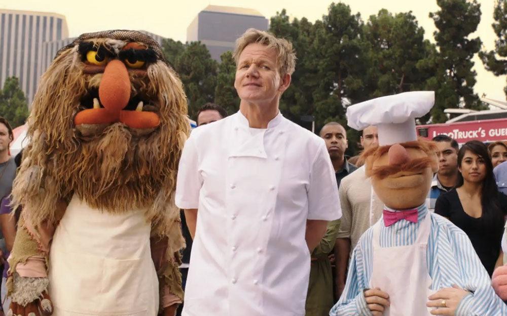 Watch Gordon Ramsay Battle the Swedish Chef
