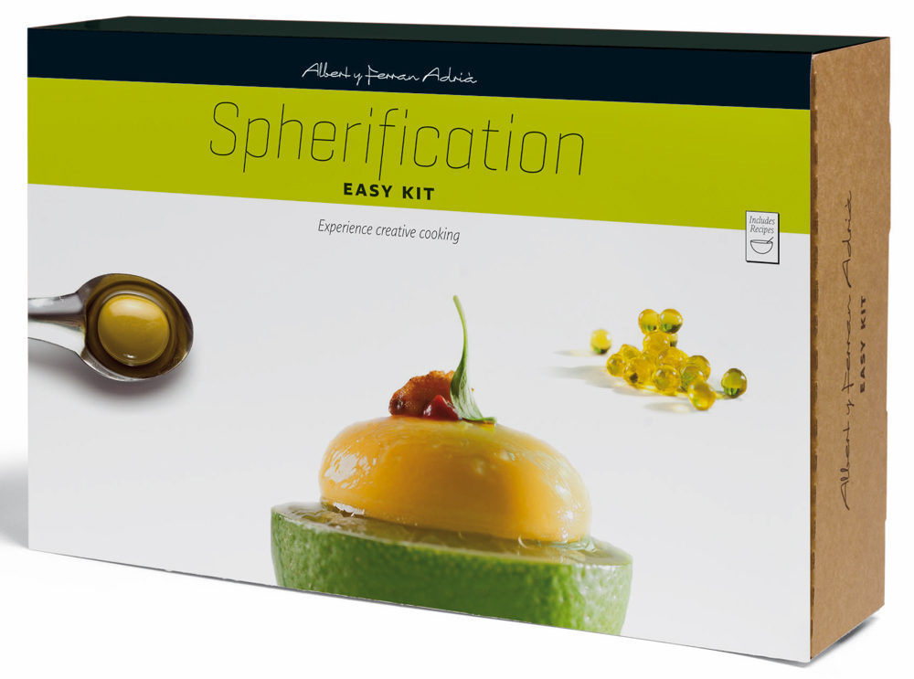 Albert and Ferran Adrià Launch New Line of Molecular Gastronomy Kits
