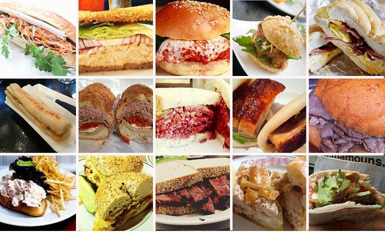 Iconic Sandwiches, Alder, Stadium Dining Guides, More