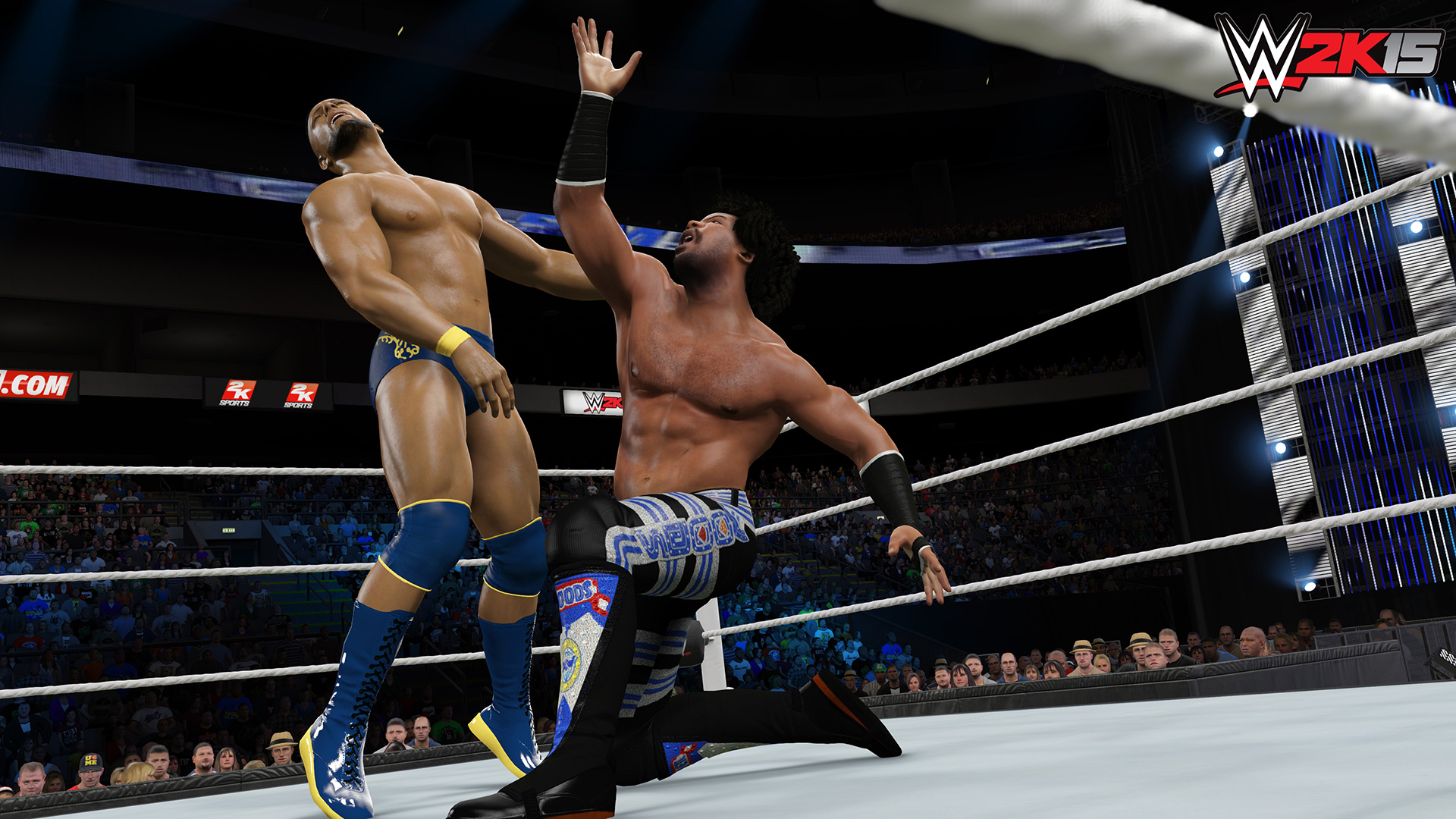 Rise up through the WWE ranks in WWE 2K15's career mode
