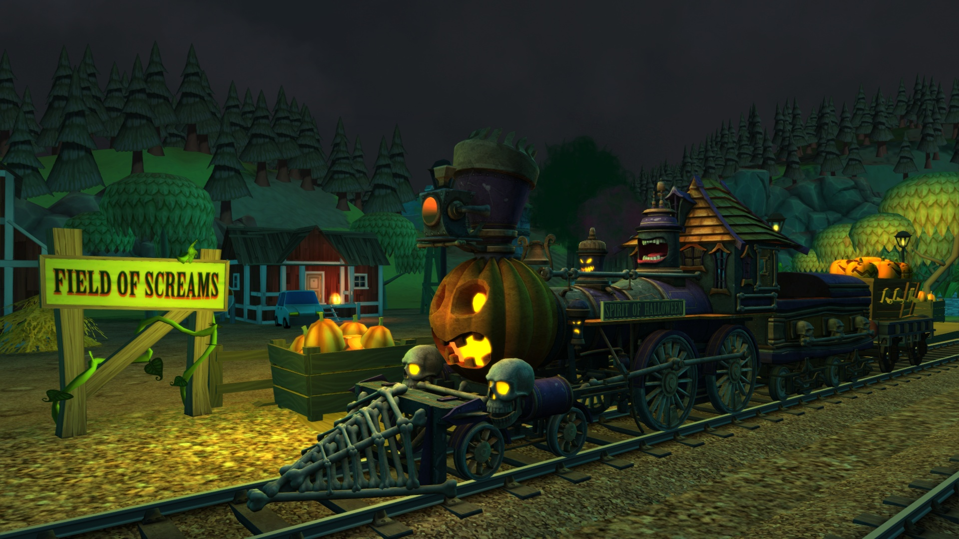 This is how the Train Simulator series celebrates Halloween