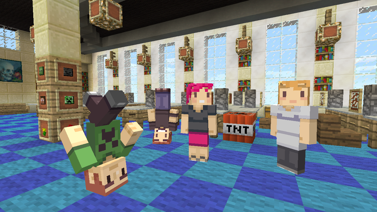 Free Minecraft skins hit Xbox to celebrate three years on Microsoft consoles