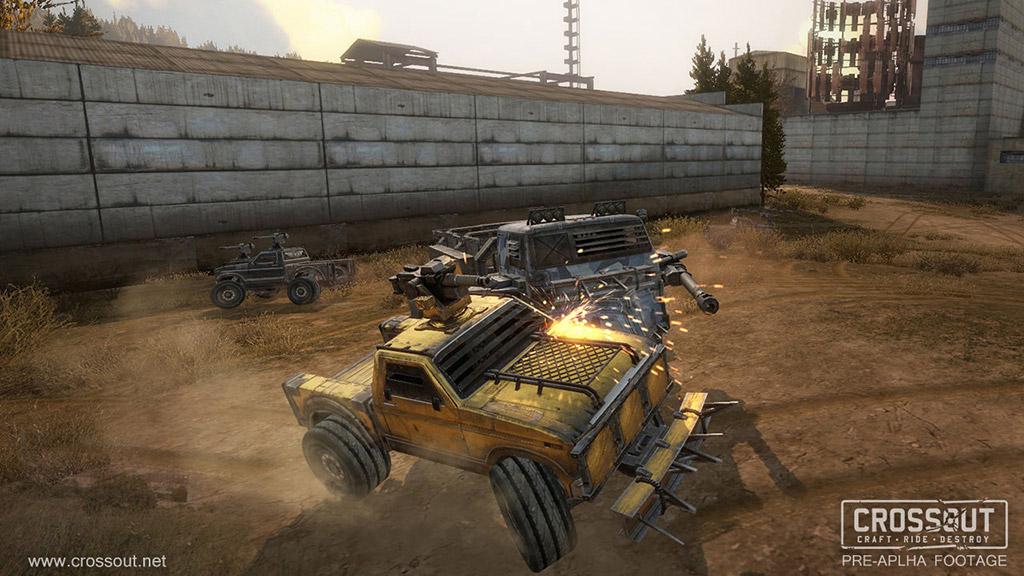 War Thunder dev announces 'Motorstorm meets Mad Max: Fury Road' MMO Crossout