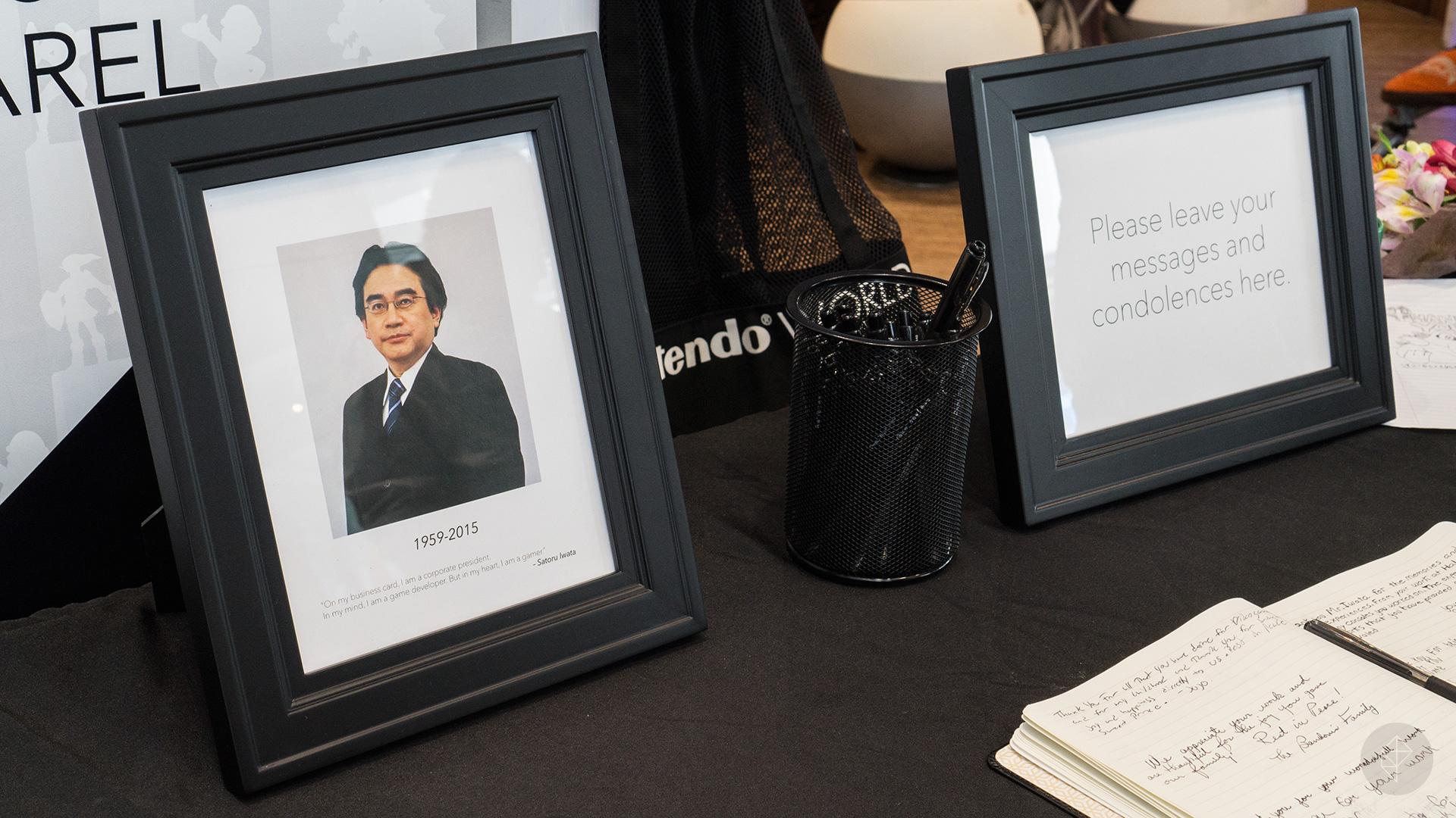 A visit to the Satoru Iwata memorial at New York's Nintendo World Store