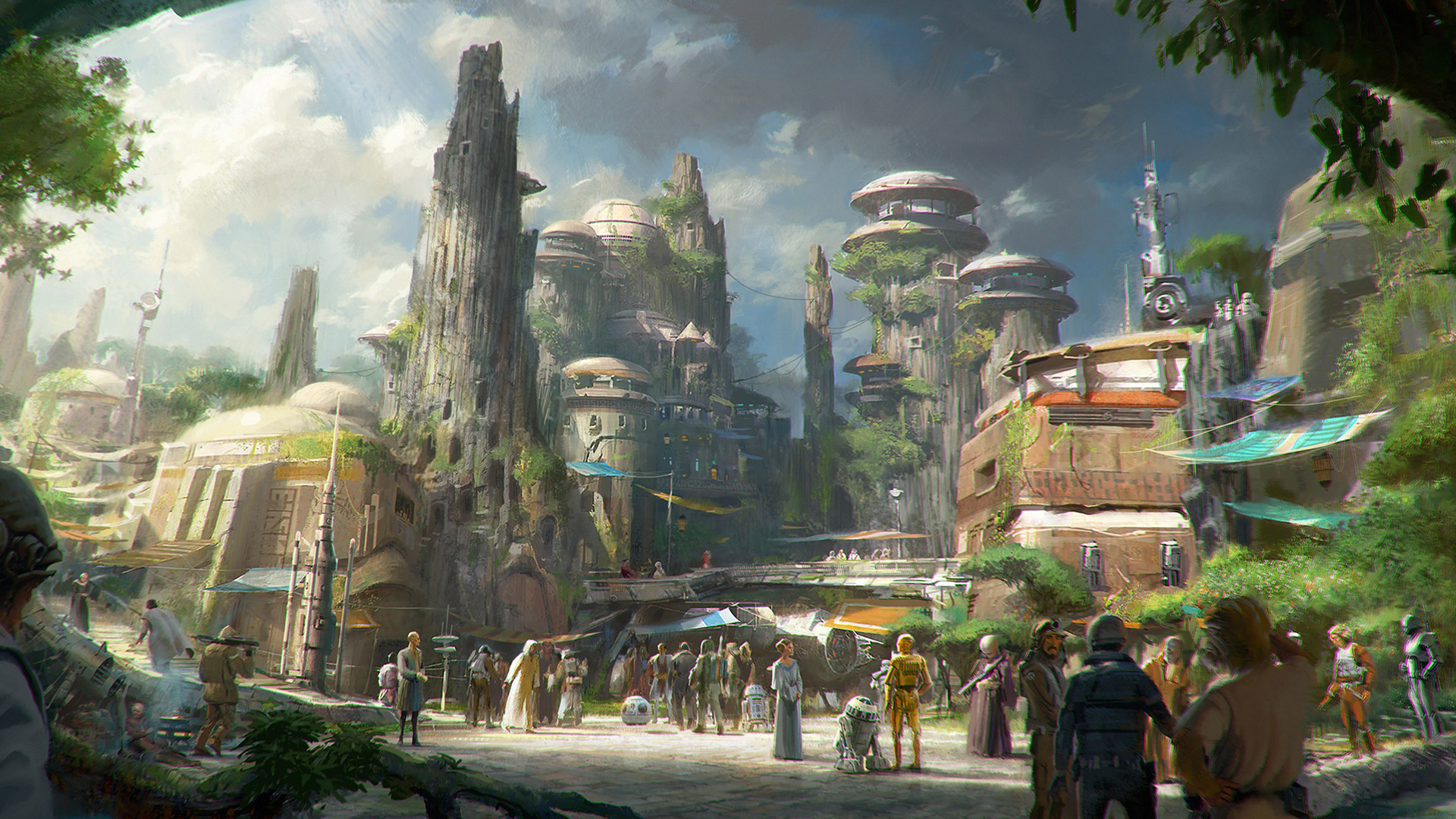 Disney confirms Star Wars theme park attractions coming, complete with cantinas
