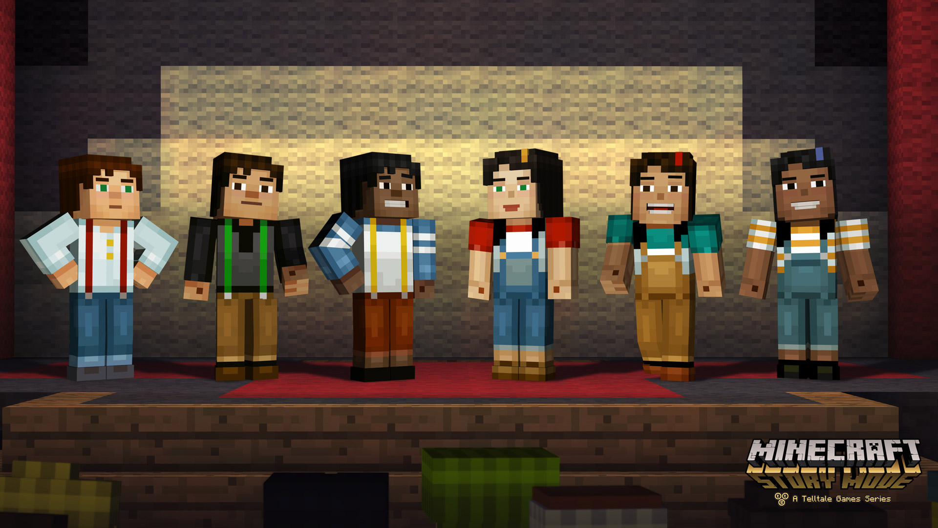 Minecraft: Story Mode features a first for Telltale — letting you pick your character