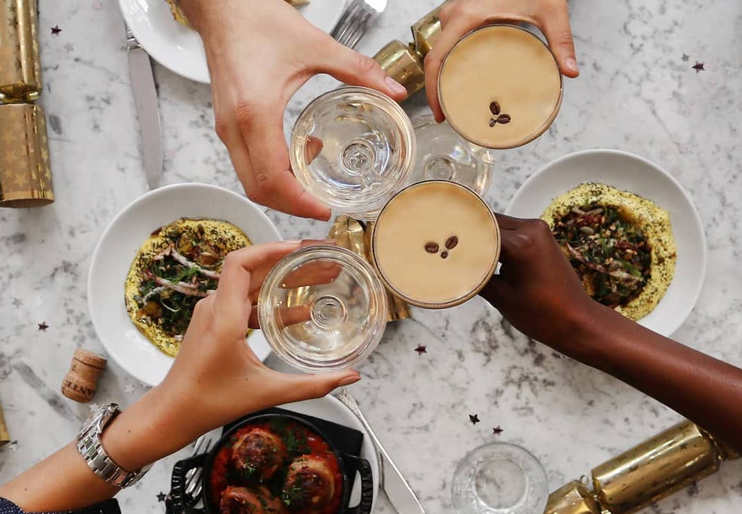 Espresso martinis, cocktails, coffee and all-day dining at Grind, which will open a new restaurant in Greenwich on the site of Jamie's Italian
