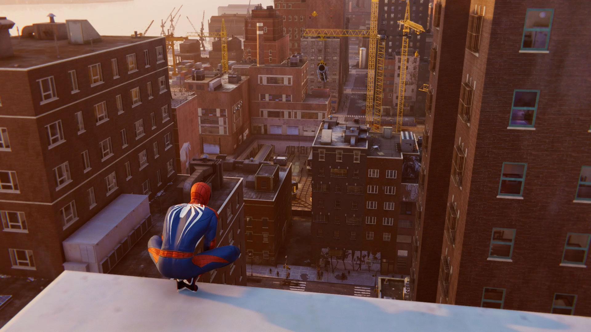 Spider-Man PS4 Bomb Challenge