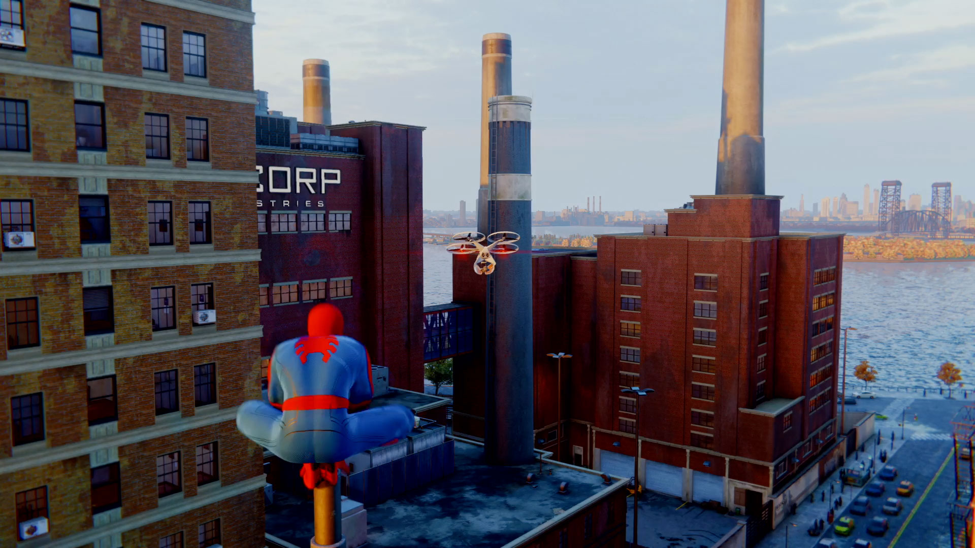 Spider-Man PS4 drone challenges guide