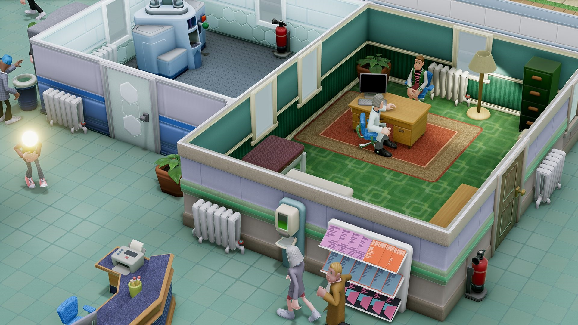 Two Point Hospital is funny, smart and surprisingly deep