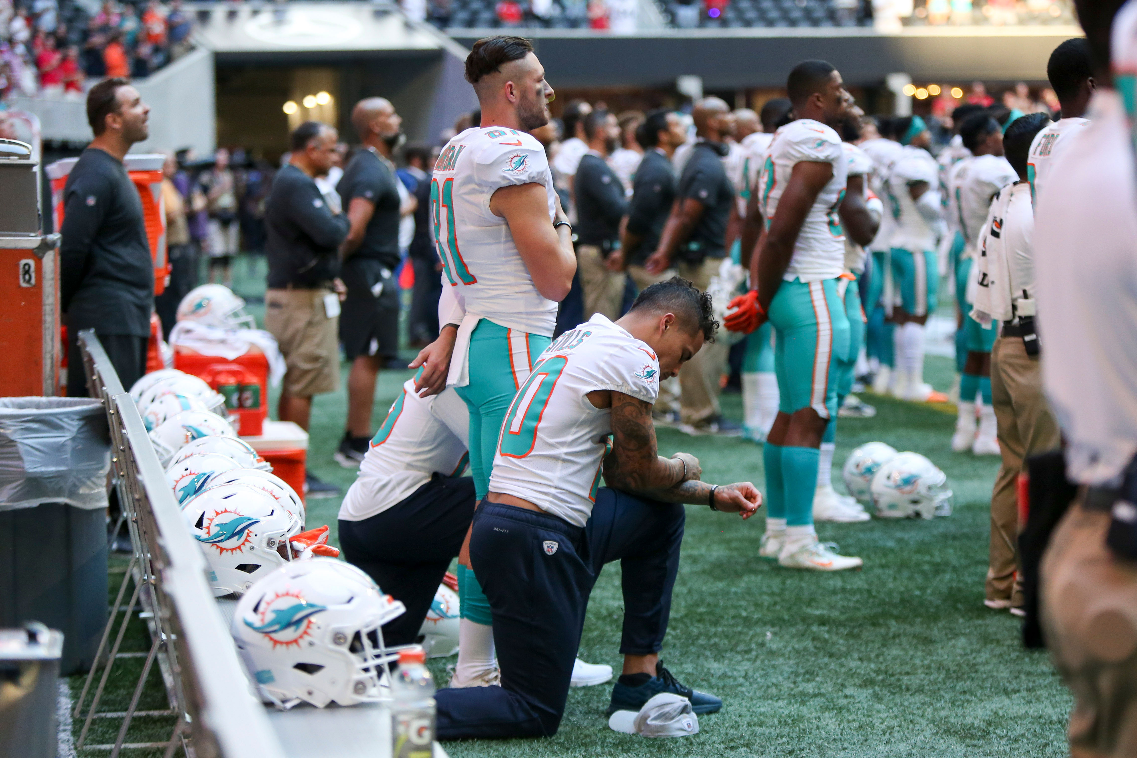 The latest on NFL player protests c5f25329d