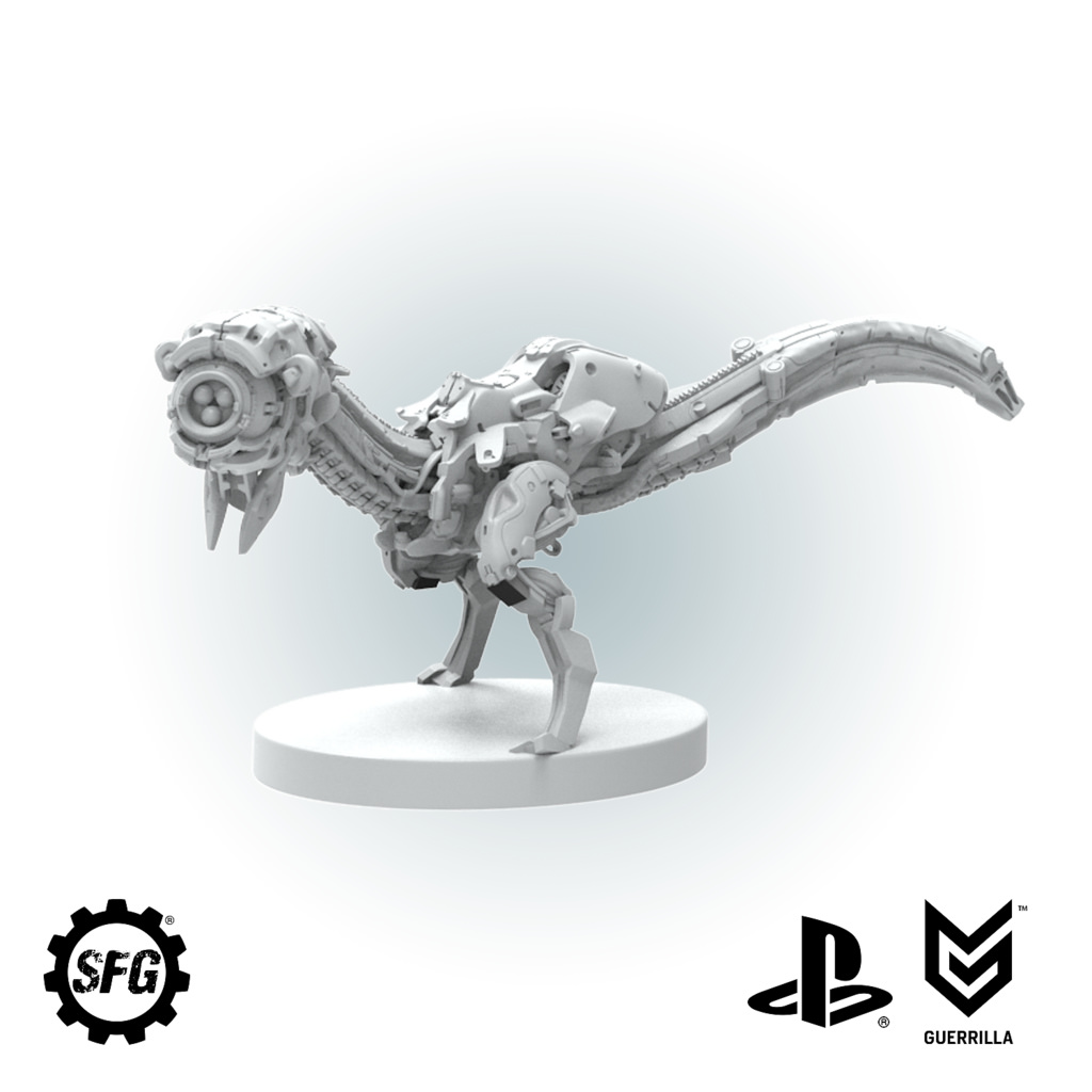 Horizon Zero Dawn board game fully funded, blows through its first batch of stretch goals