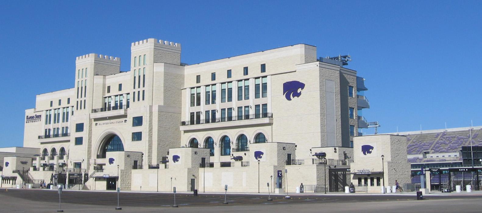 Snyder Stadium on the KSU campus in Manhattan, Kansas