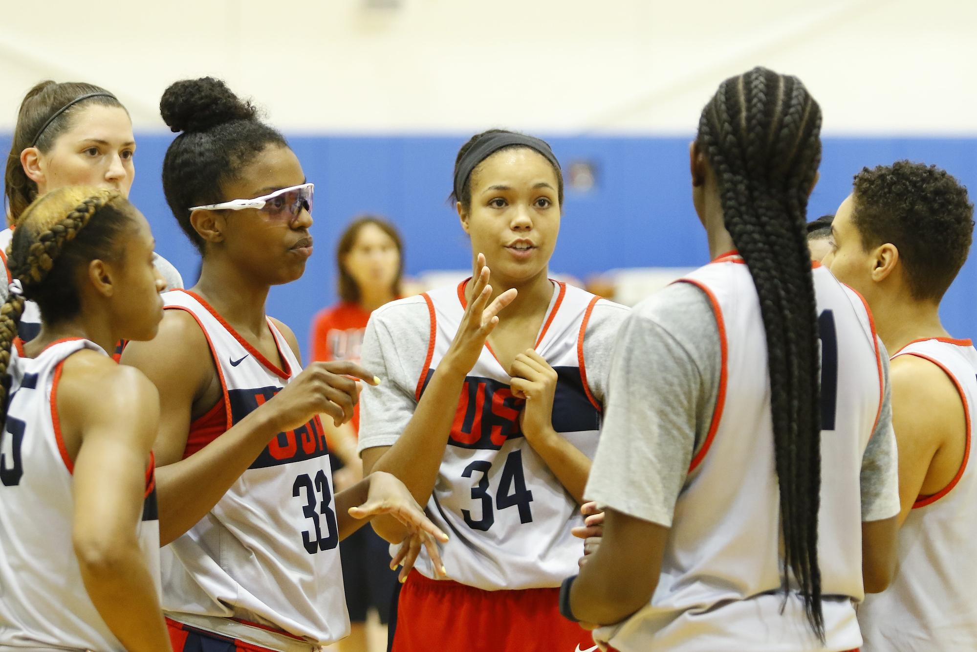 Napheesa Collier, USA Basketball