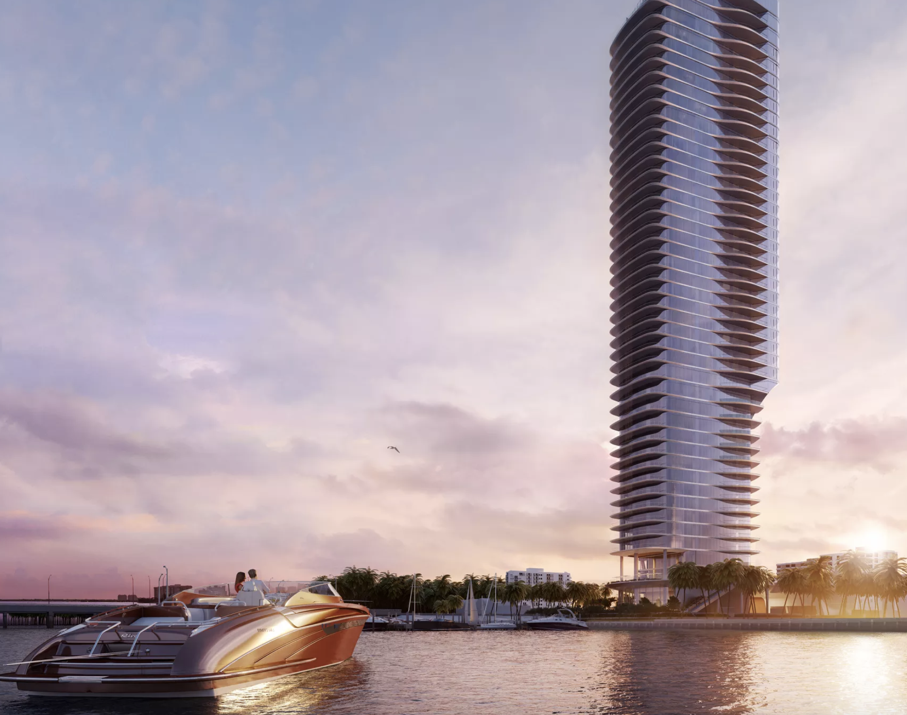 Miami homes neighborhoods architecture and real estate curbed miami brickells una residences tower clears key vote fandeluxe Images