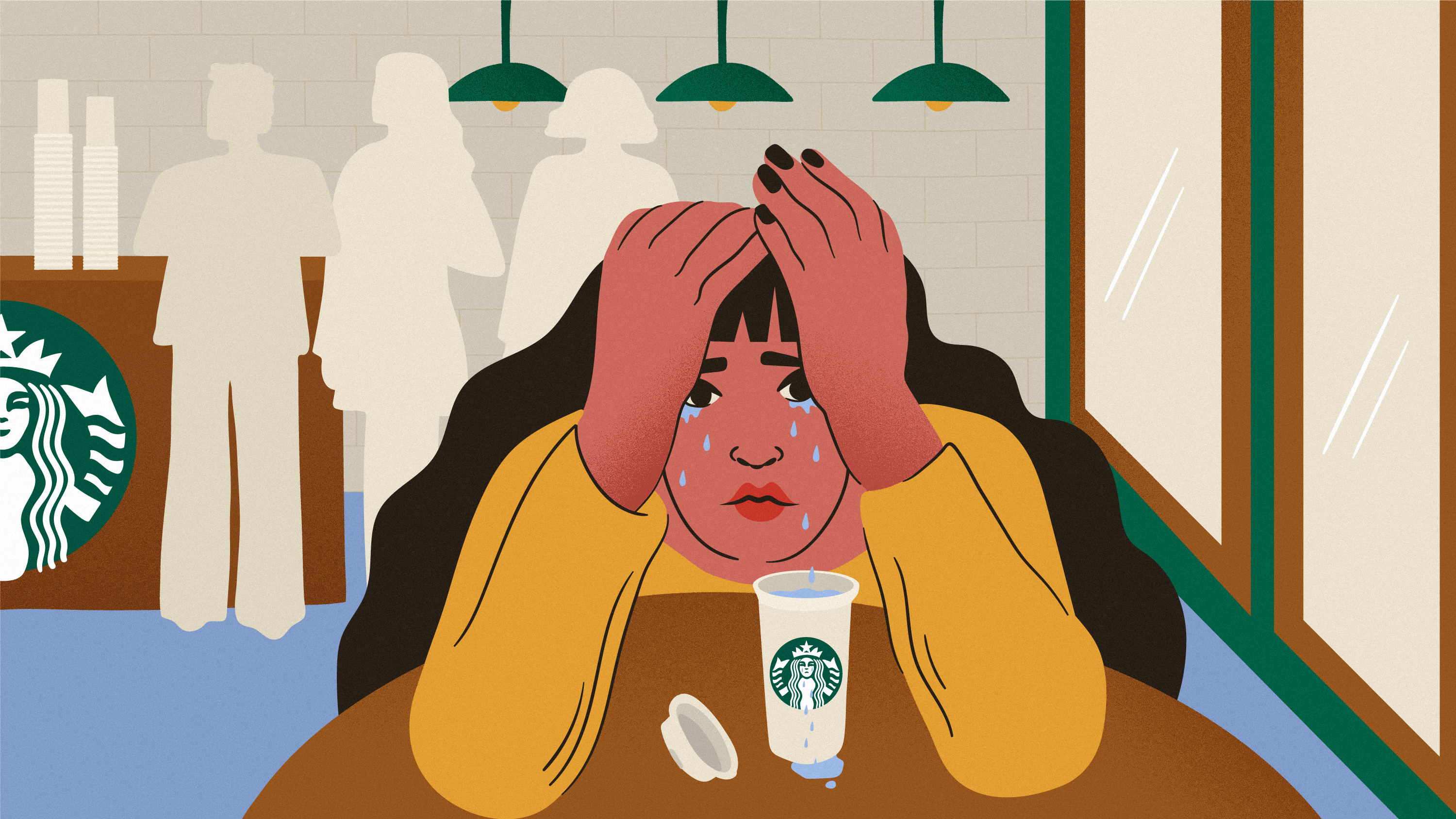Starbucks is the best place to cry in public eater