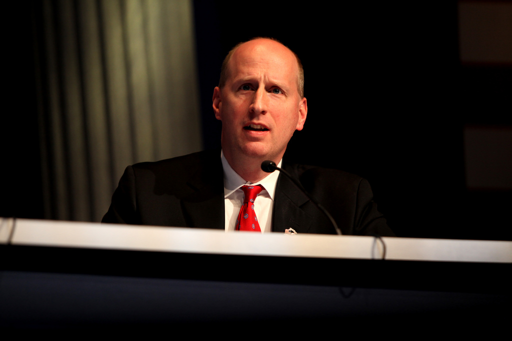 David French speaking at the 2012 CPAC in Washington, DC.