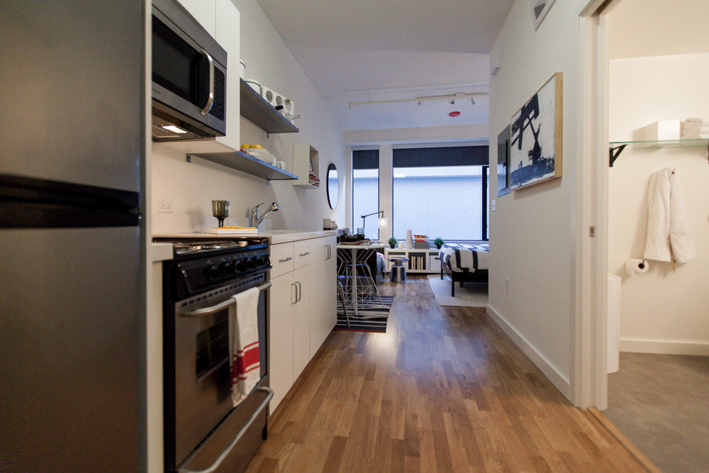 First Look at the Very Tiny Apartments at the Lofts at Seven
