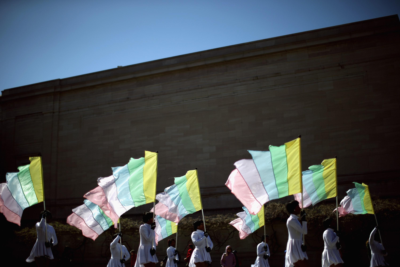 Emancipation Day Parade Winds Through Washington DC