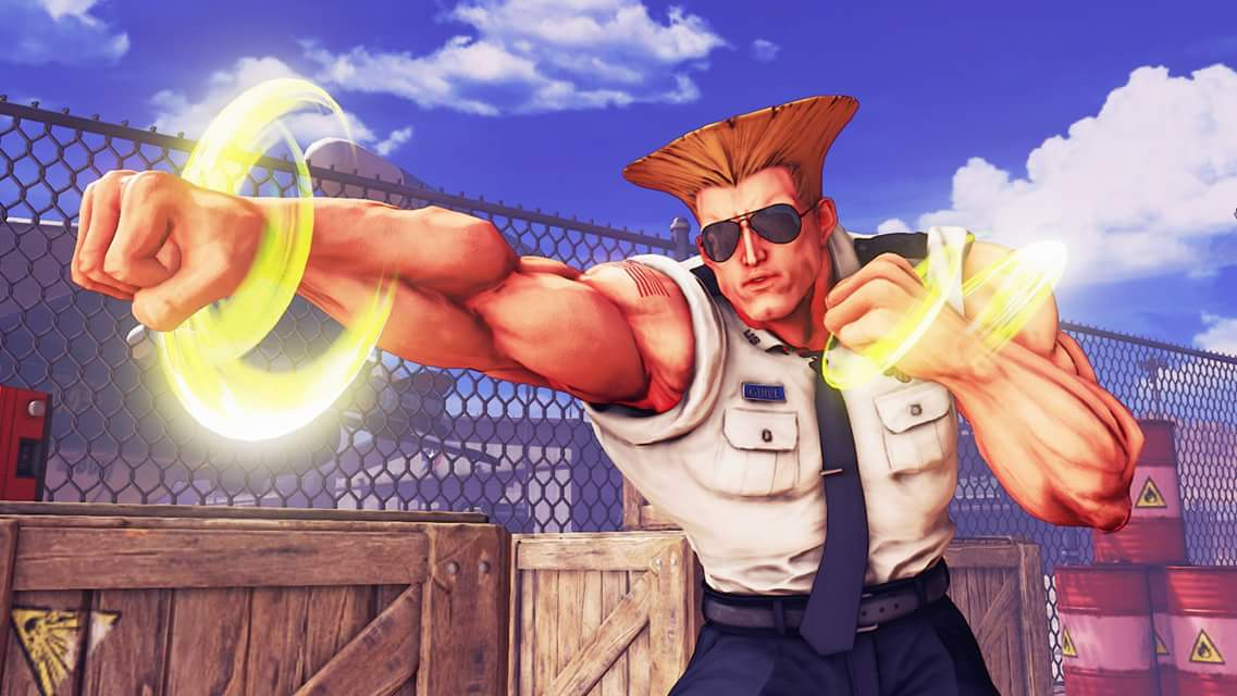 Street Fighter 5 screenshots give us a glimpse of Guile, the next DLC character (update)