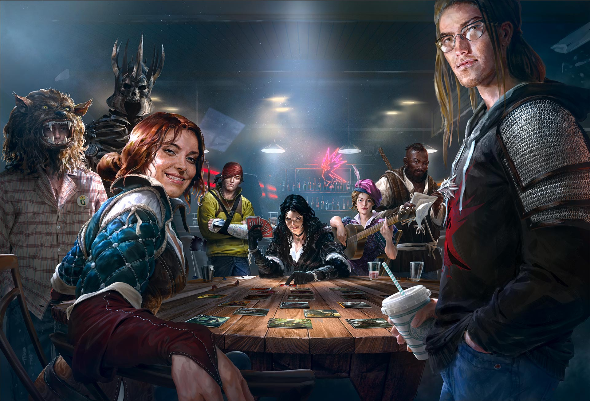 Gwent is a game born of one wild weekend, busy volunteers and hundreds of emails