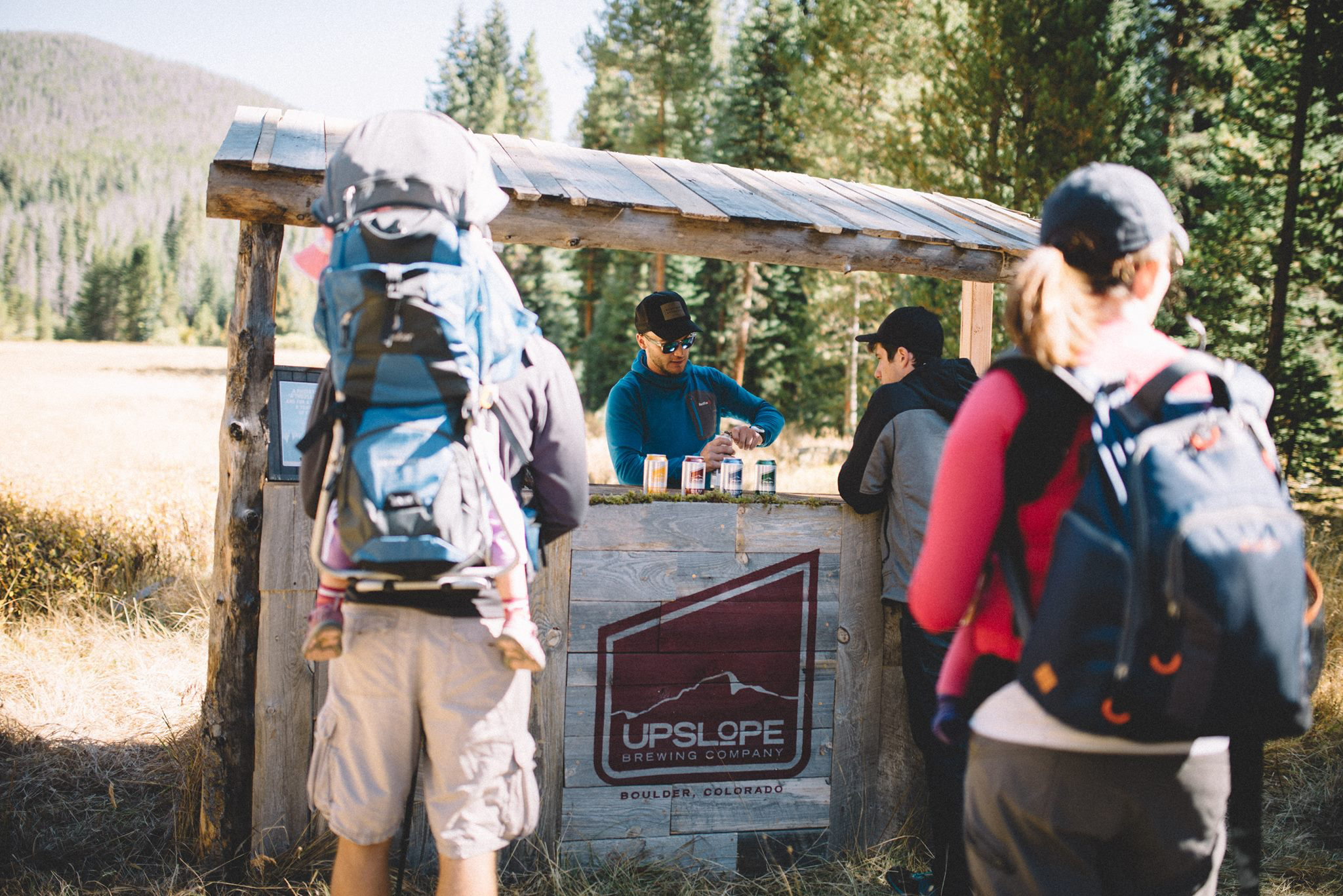 Coloradans Can Now Hike to a Tap Room in the Woods