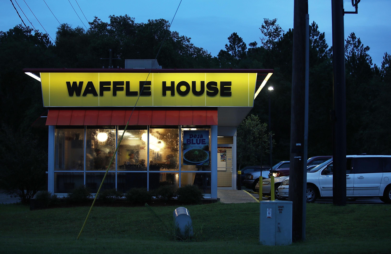 A Waffle House restaurant