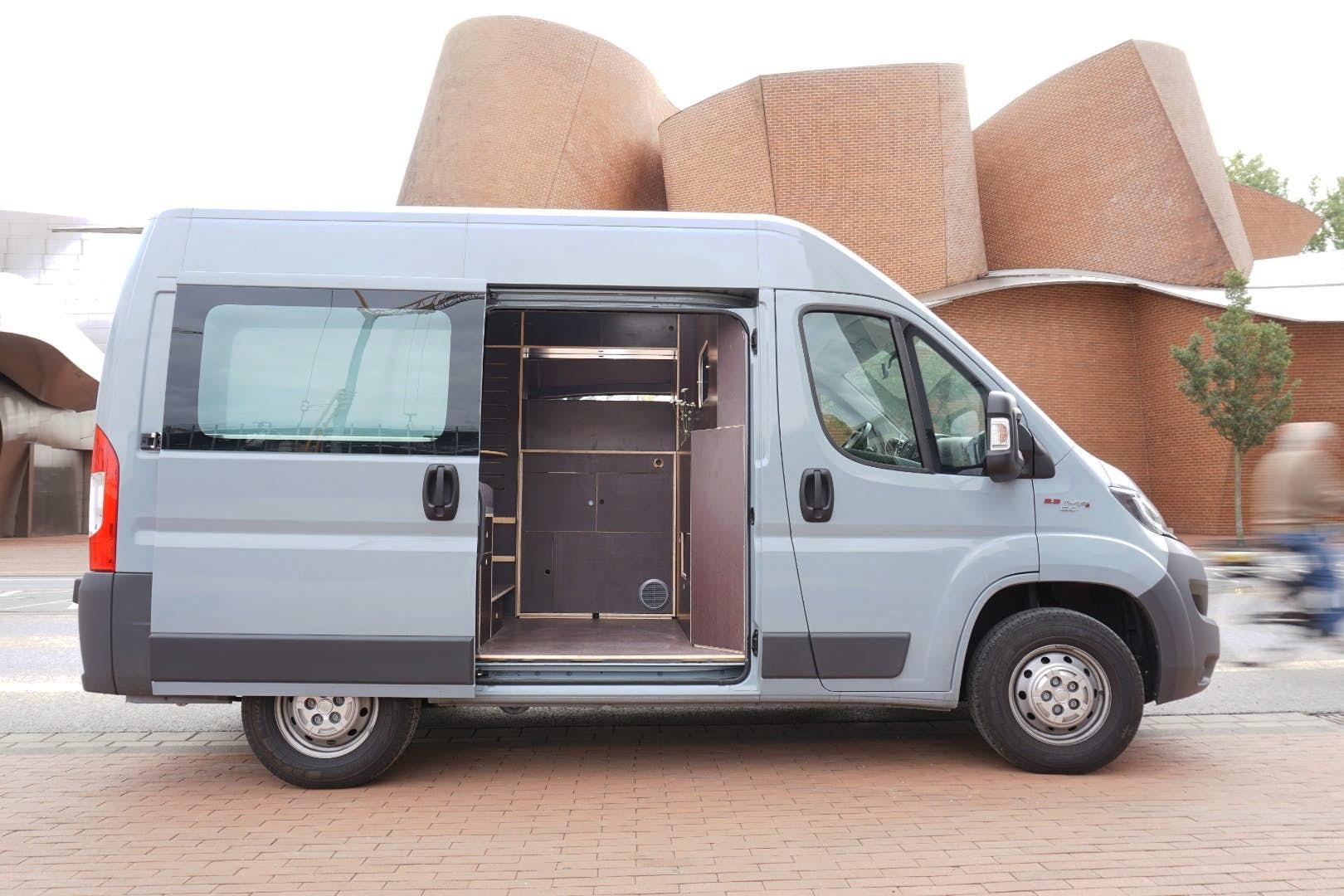Minimalist camper van packs everything you need in 48 square feet