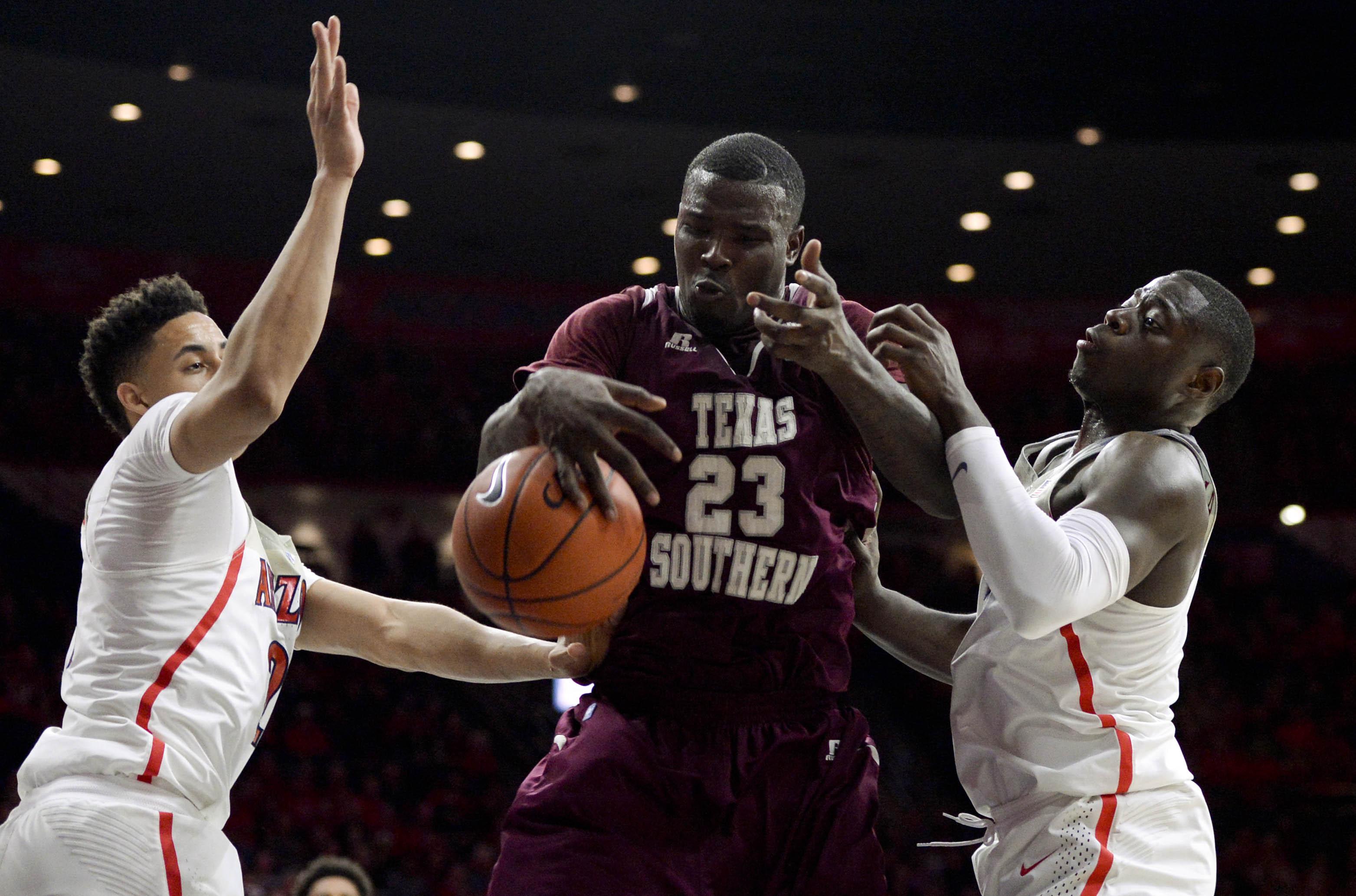 NCAA Basketball: Texas Southern at Arizona
