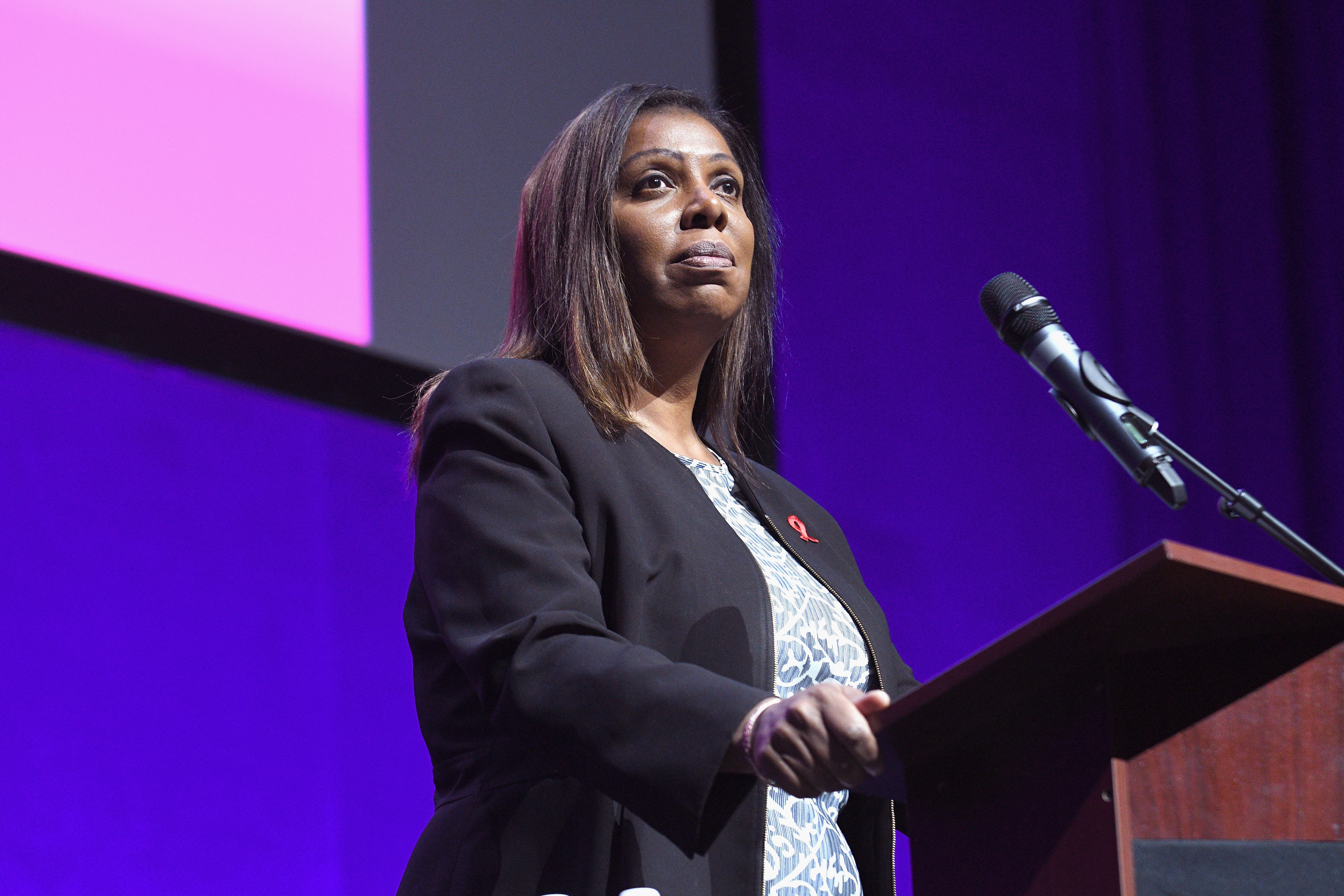 Letitia James wins the New York attorney general primary. She could be the first black woman ever elected to the job.