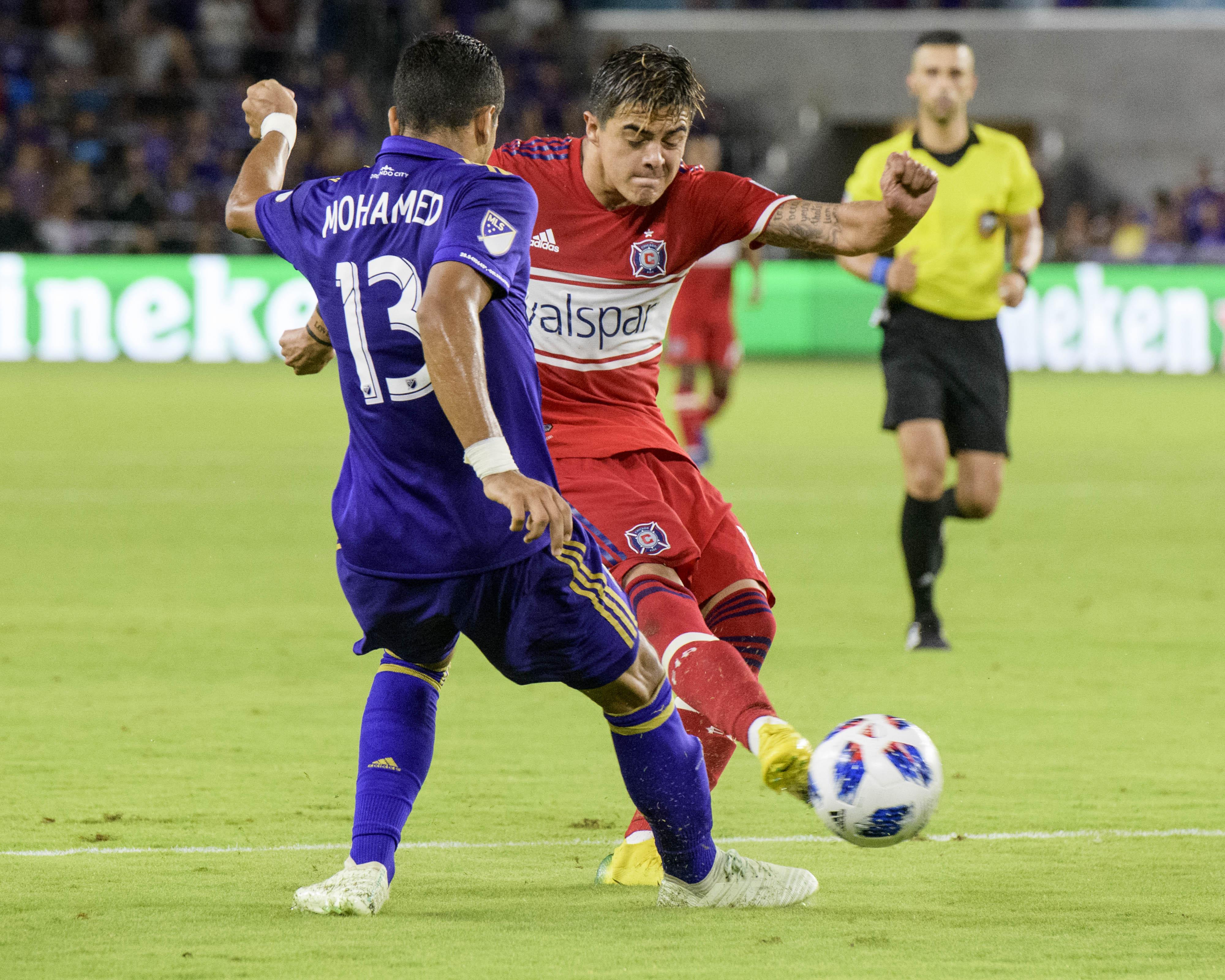 MLS: Chicago Fire at Orlando City SC