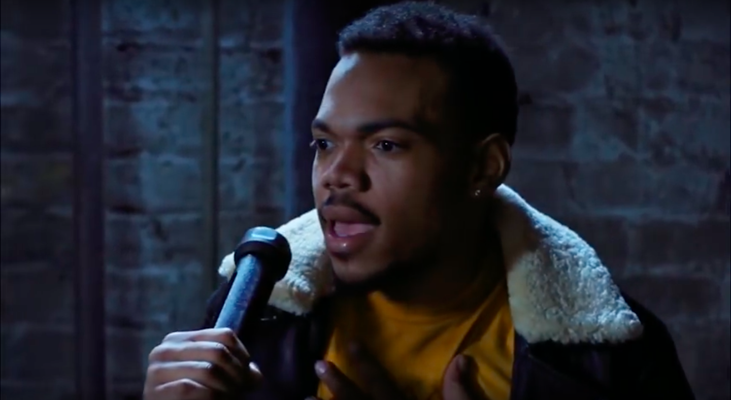 Chance the Rapper in Slice