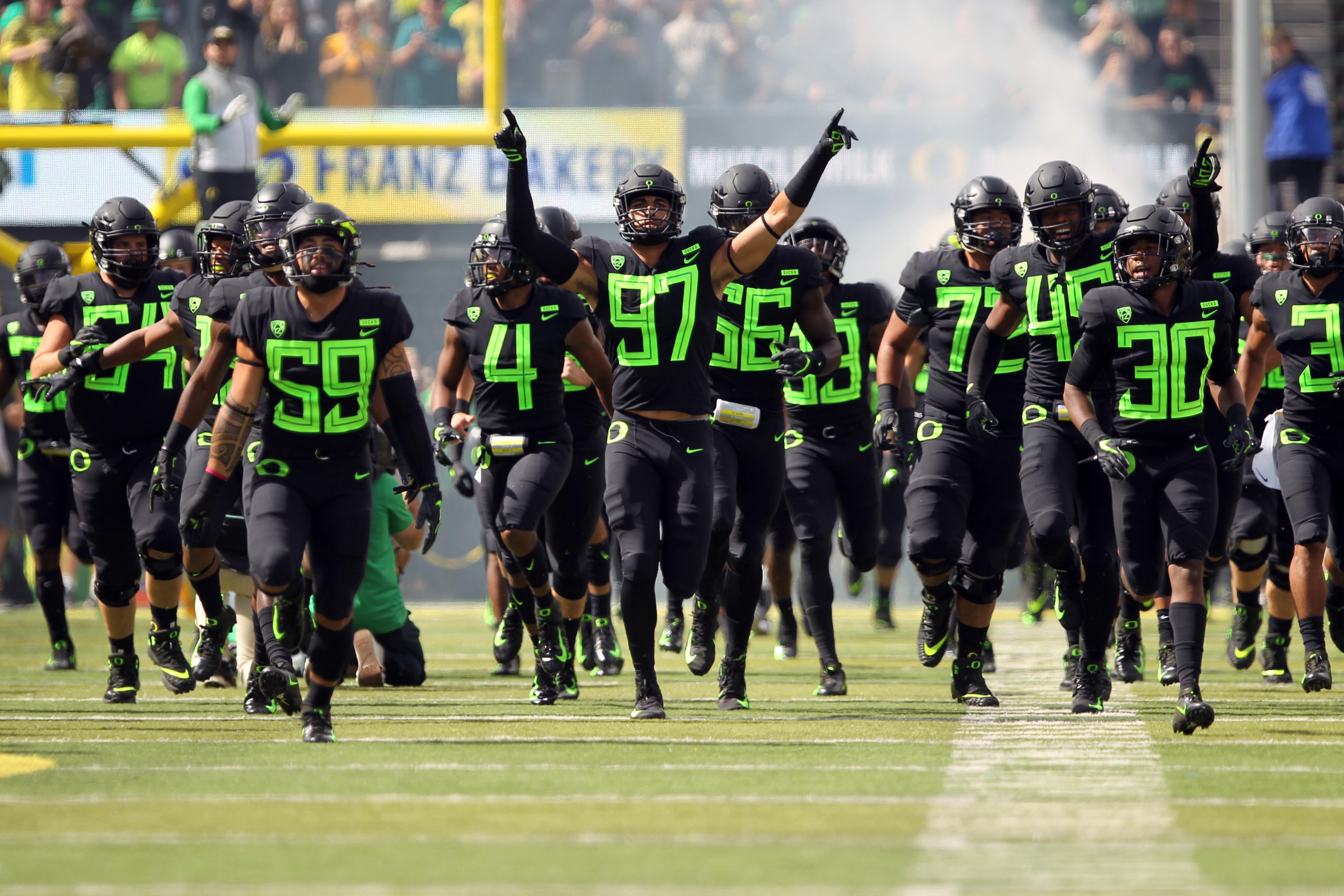 NCAA Football: San Jose State at Oregon
