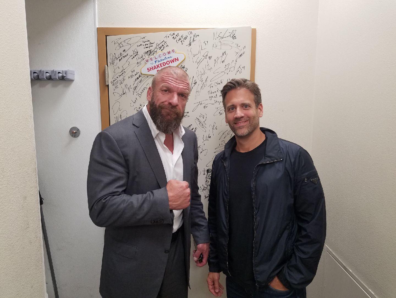 WWE fight Triple H at Scotch 80 Prime