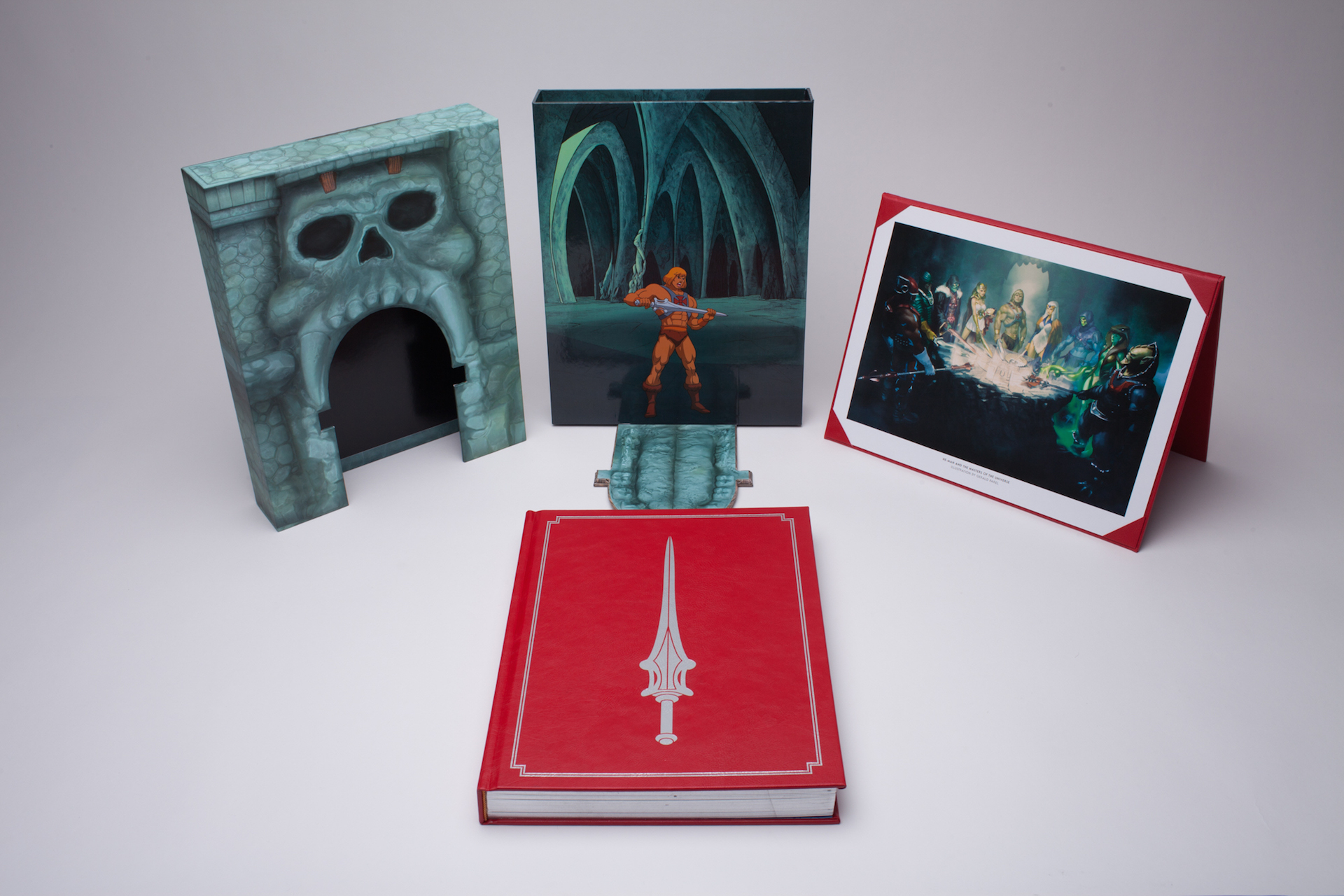 This is what a $130 He-Man art book looks like