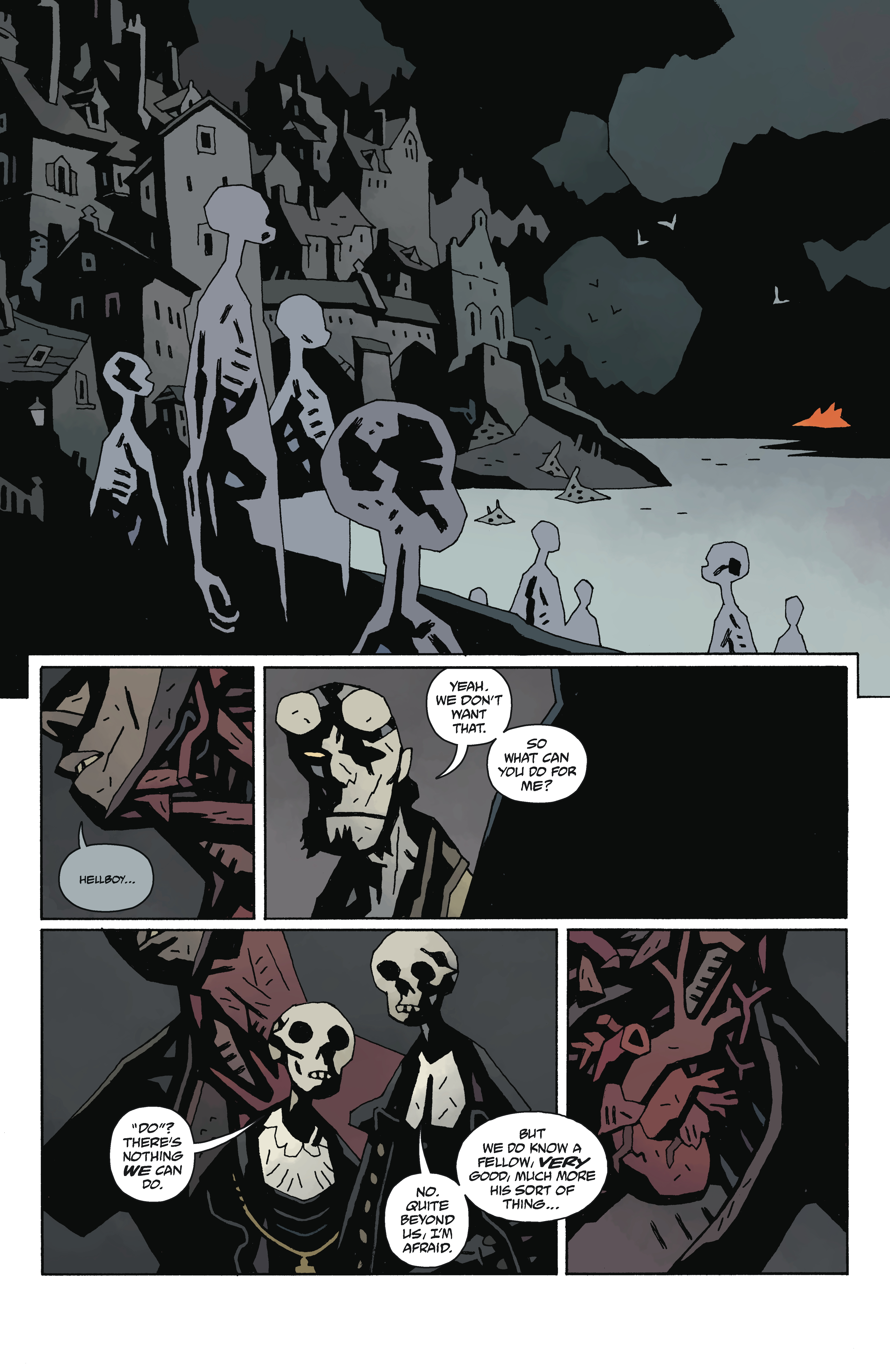 Hellboy in Hell preview: and then things get worse