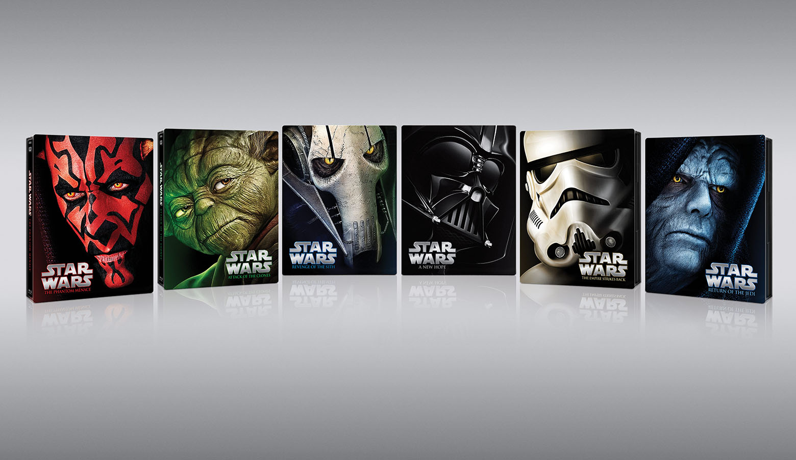 The Dark Side is (a little too) strong with these Star Wars saga limited edition Blu-rays