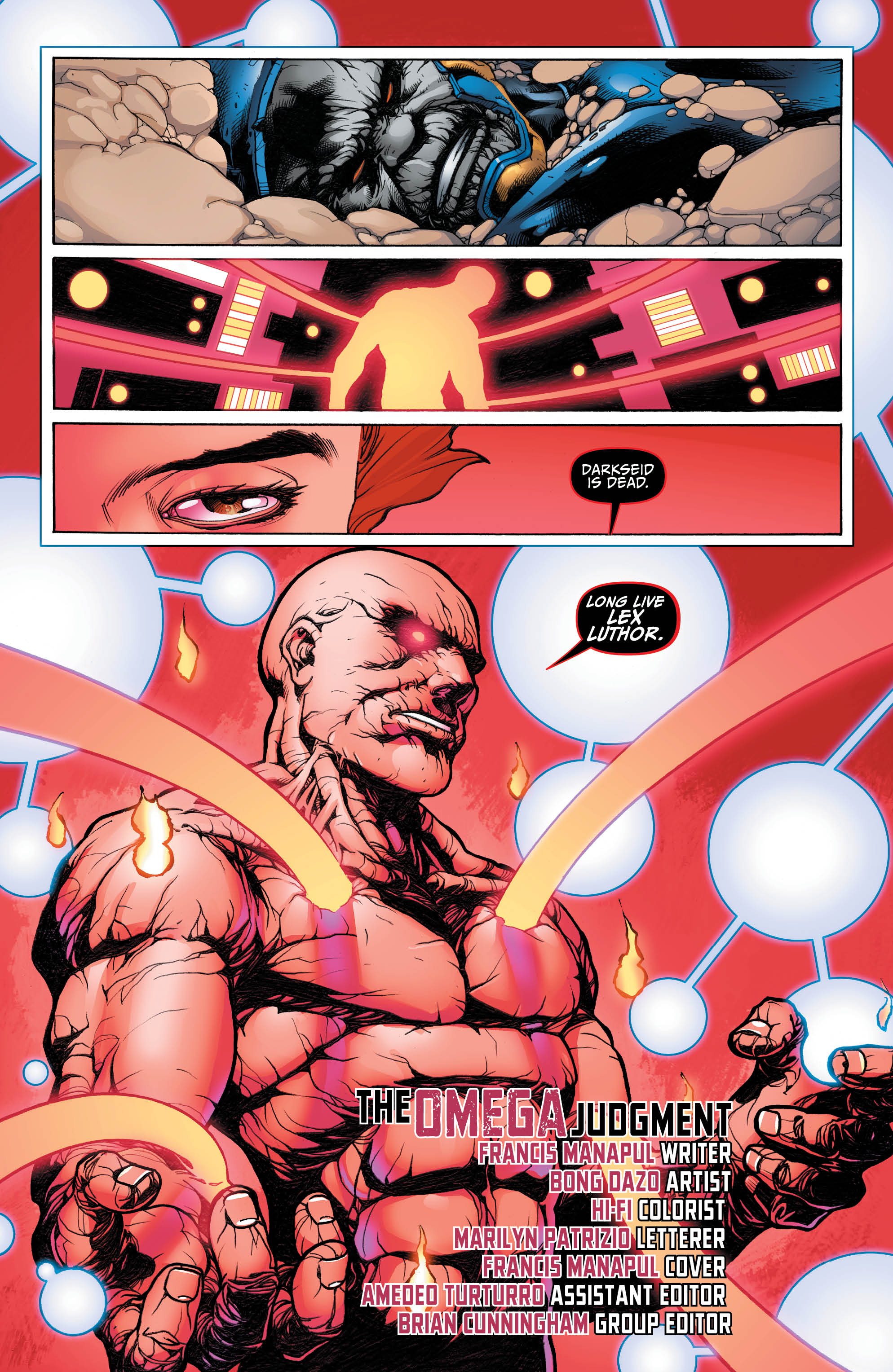 Darkseid War: Lex Luthor preview: Luthor gains all the powers of a god